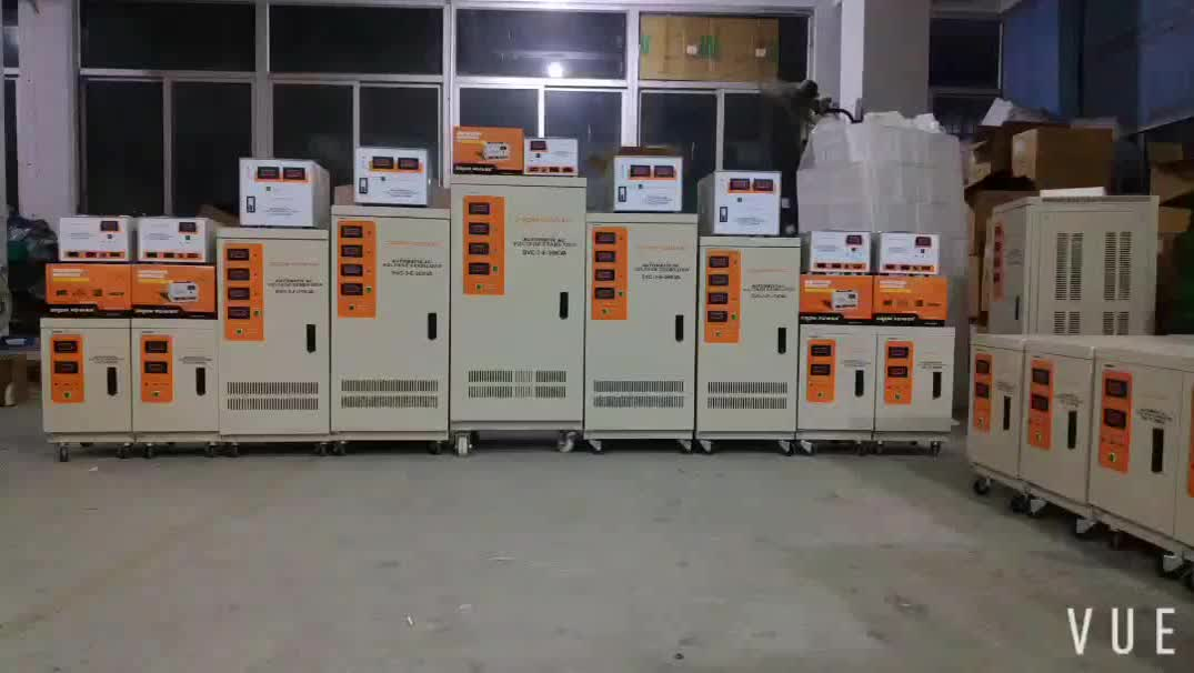 SBW-Z-650Kva Professional Made 풀 삼 상 380 V Ac 자동 Voltage 안정제