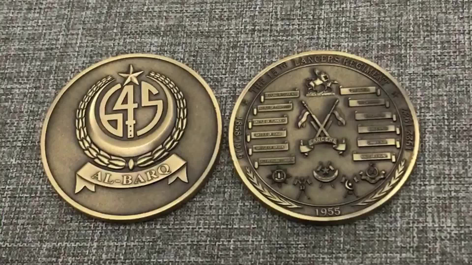 china custom die stamping 3D logo metal blank coins for sale