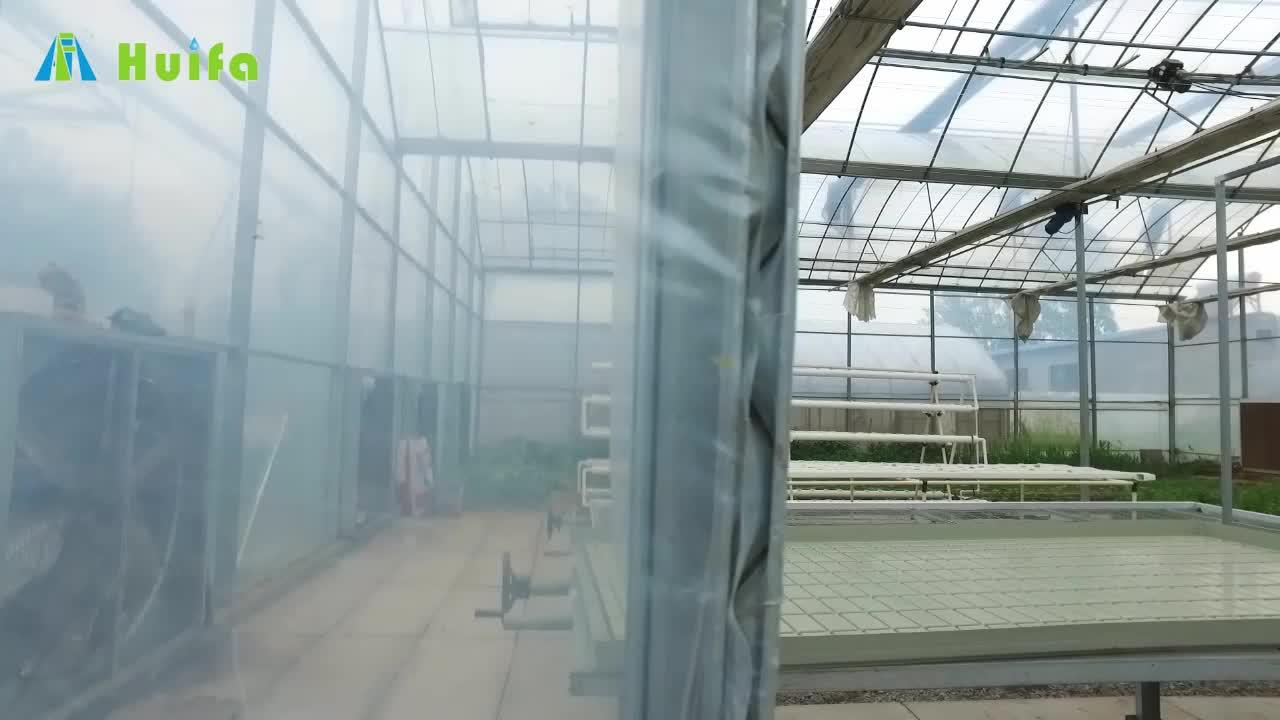 Yüksek kaliteli yüksek teknoloji polikarbonat ticari sera ekipmanları