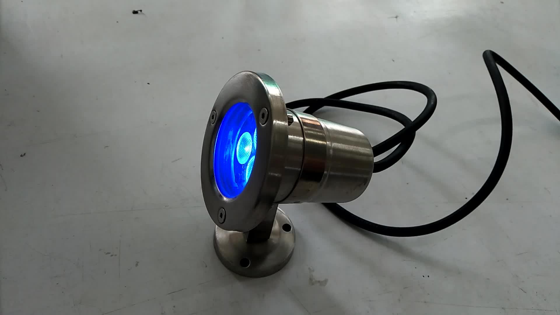 热销 12/24V 月个月 W 3In1 Rgb 灯池喷泉灯 Ip68 户外 Led 水底灯