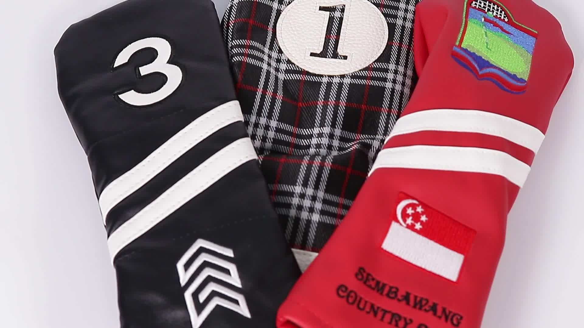 Custom Golf Headcover,Golf club Headcovers, Golf Headcover Manufacturer
