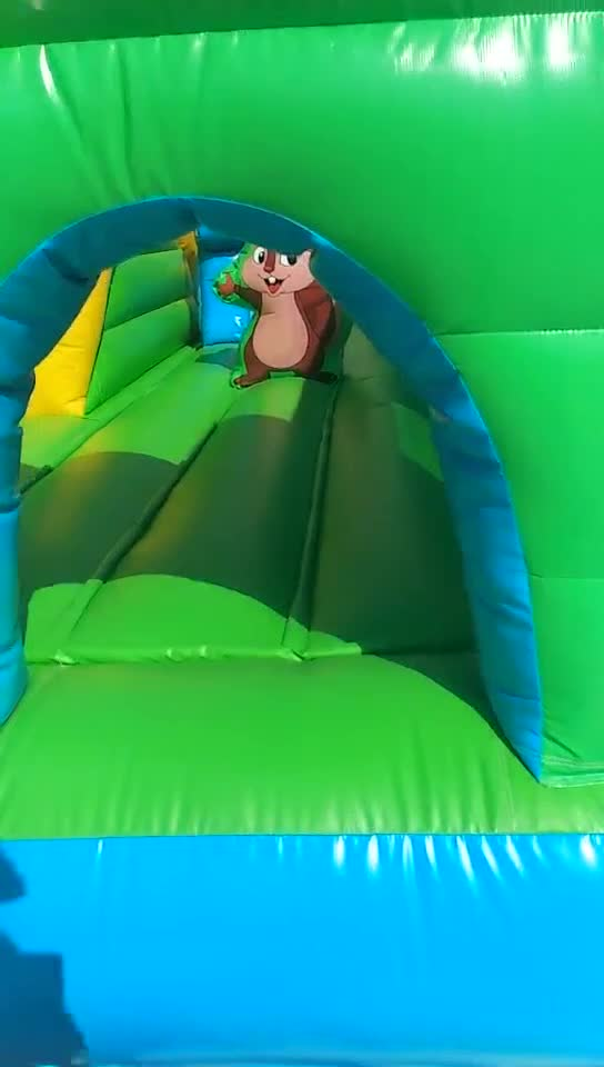 Small Inflatable Bouncer Castle Moonwalk Playground Commercial Bouncy Jumping Castles Obstacle Moonwalks Jumper Inflatables