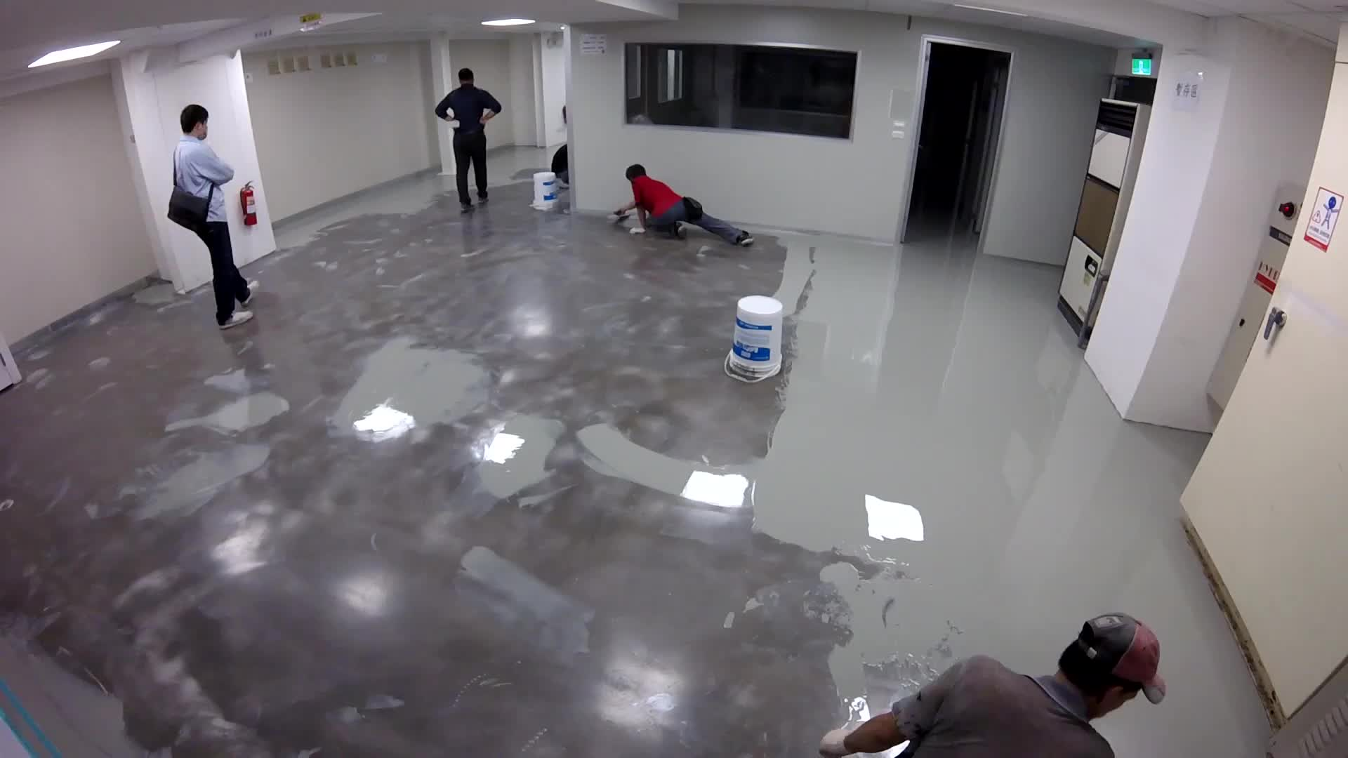 Self leveling ucrete flooring PU cement floor