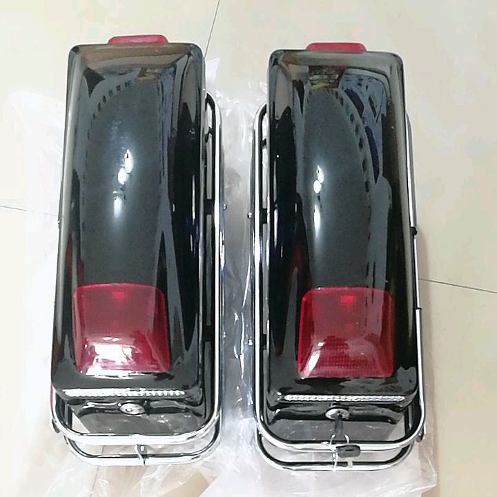 CQJB Manufacture Used for Motorcycle Model Taizi Dadiying Motorcycle Luggage Side Tail Boxes