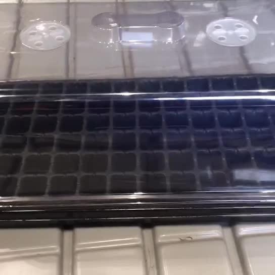 प्लास्टिक संयंत्र propagator बीज ट्रे किट अंकुर स्टार्टर अंकुरण ट्रे के साथ ढक्कन
