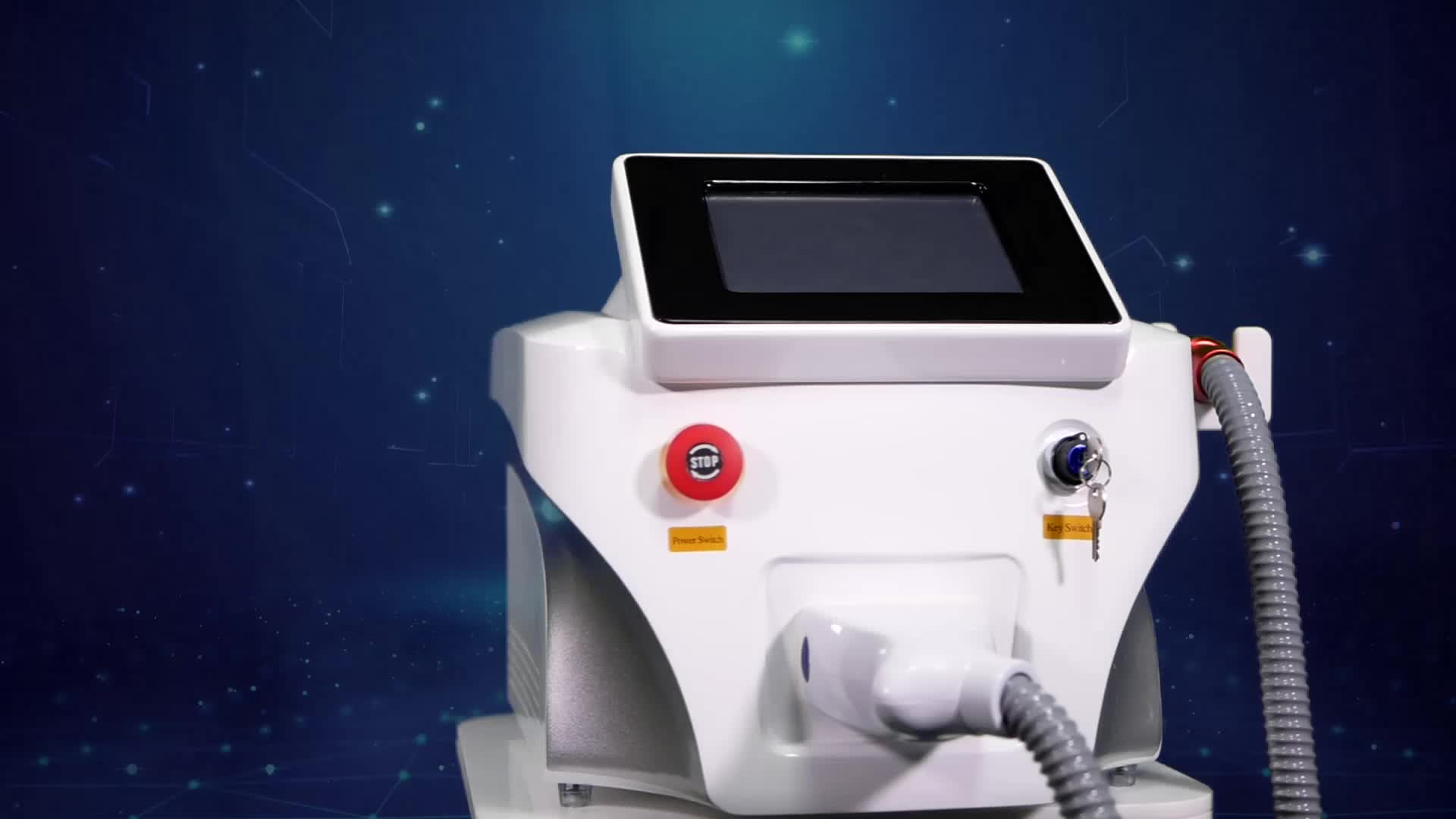 A0508 Magic Plus Portable  755nm Picosecond Laser Machine For Freckle Tattoo Removal