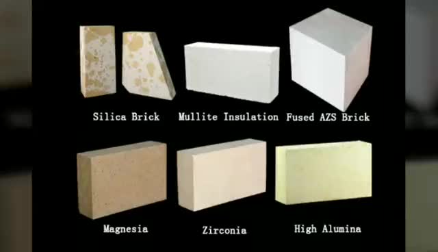 High Grade Types Of Industrial Furnace Refractory Brick