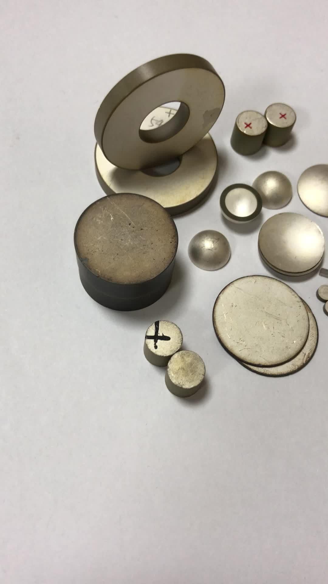 China Piezo Ceramic Chips Piezoelectric Ceramic Tube Transducer for Piezo Product