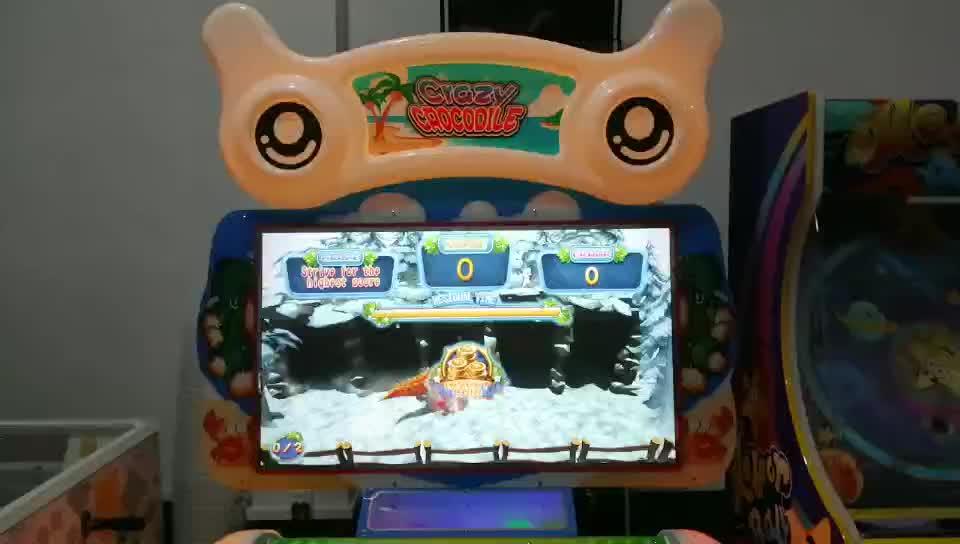 Kapalı sikke işletilen itfa oyun makinesi aile için eğlenceli oda