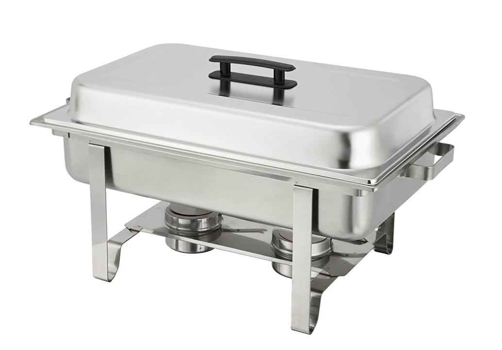 سعر المصنع الفولاذ المقاوم للصدأ الجعل طبق الغضب الغذاء دفئا