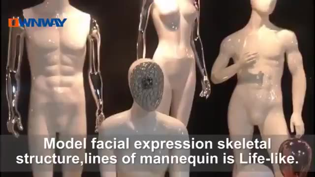 fashion full body female abstract mannequin dummy models