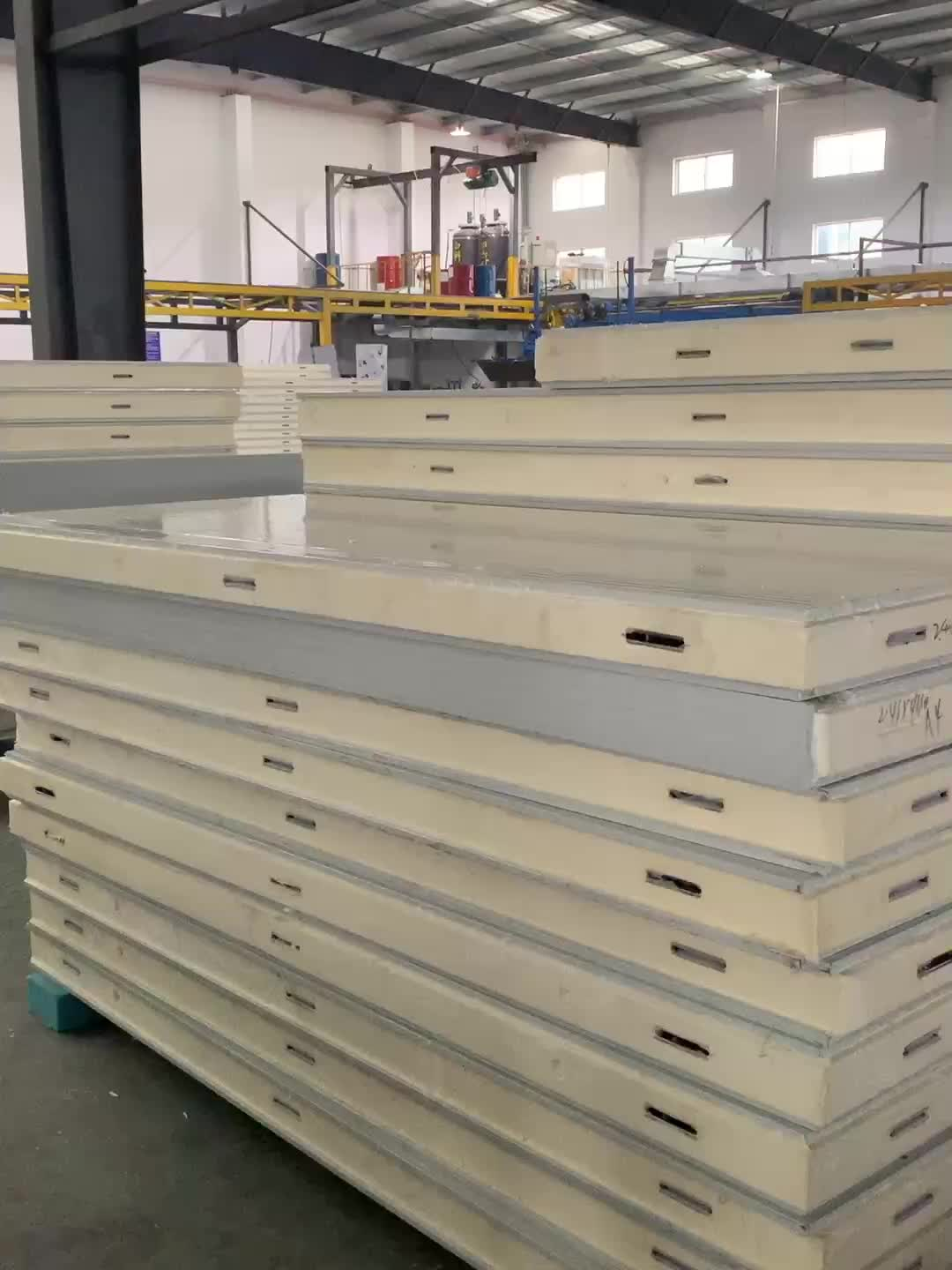 NUMBER ONE Changzhou most competitive price cold room panels PU sandwich wall panels