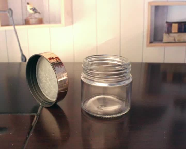 mini glass jar clear with screw top lid wholesale glass jars jam