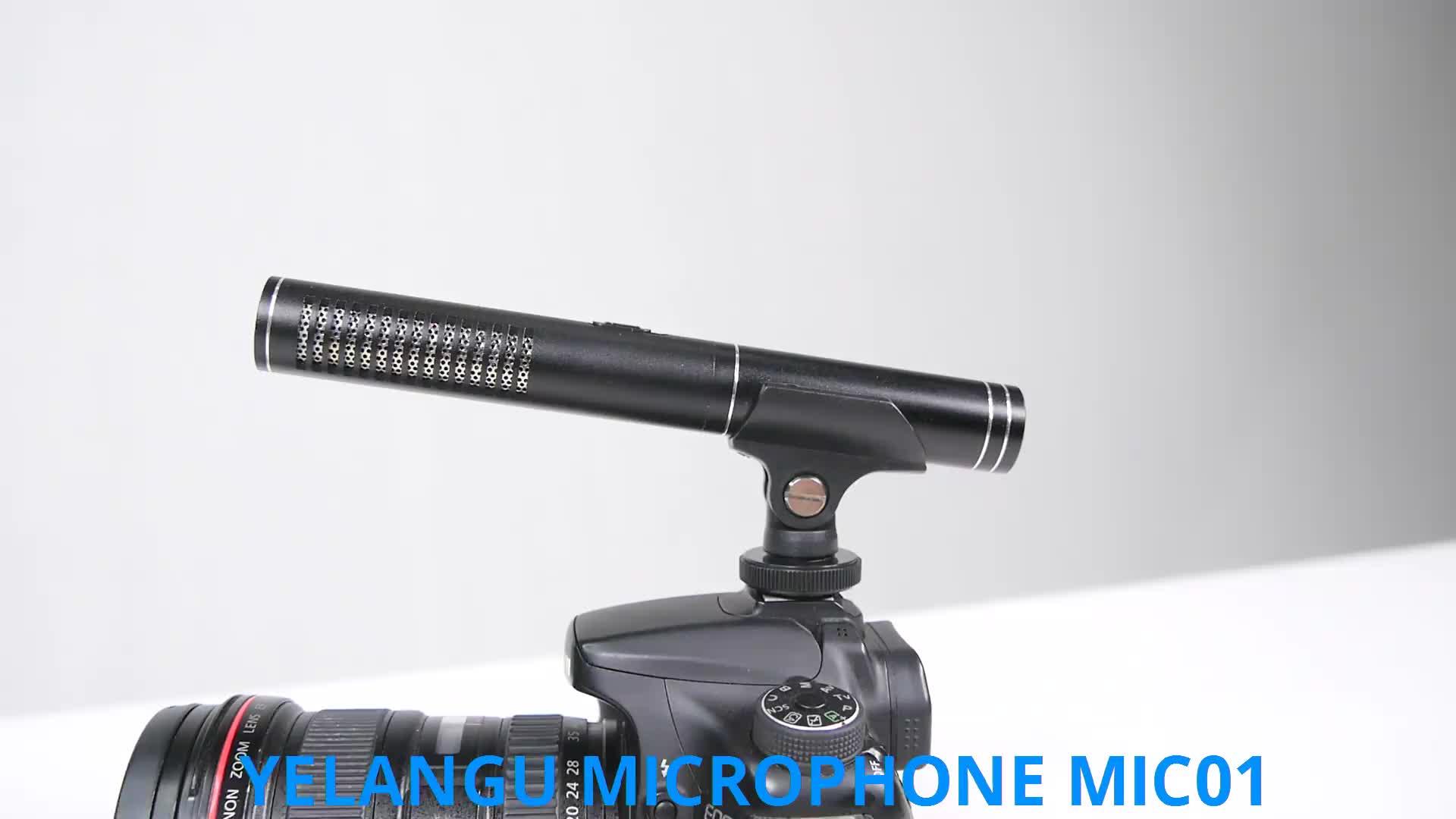 Yelangu Film Recording Microphone Dslr Smartphone Video Camera Microphone