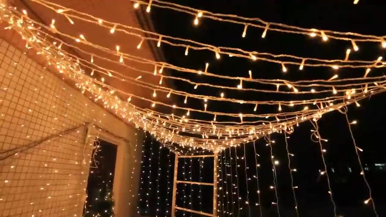 Garden Party Outdoor Decorative String Light Holiday Christmas LED String Light