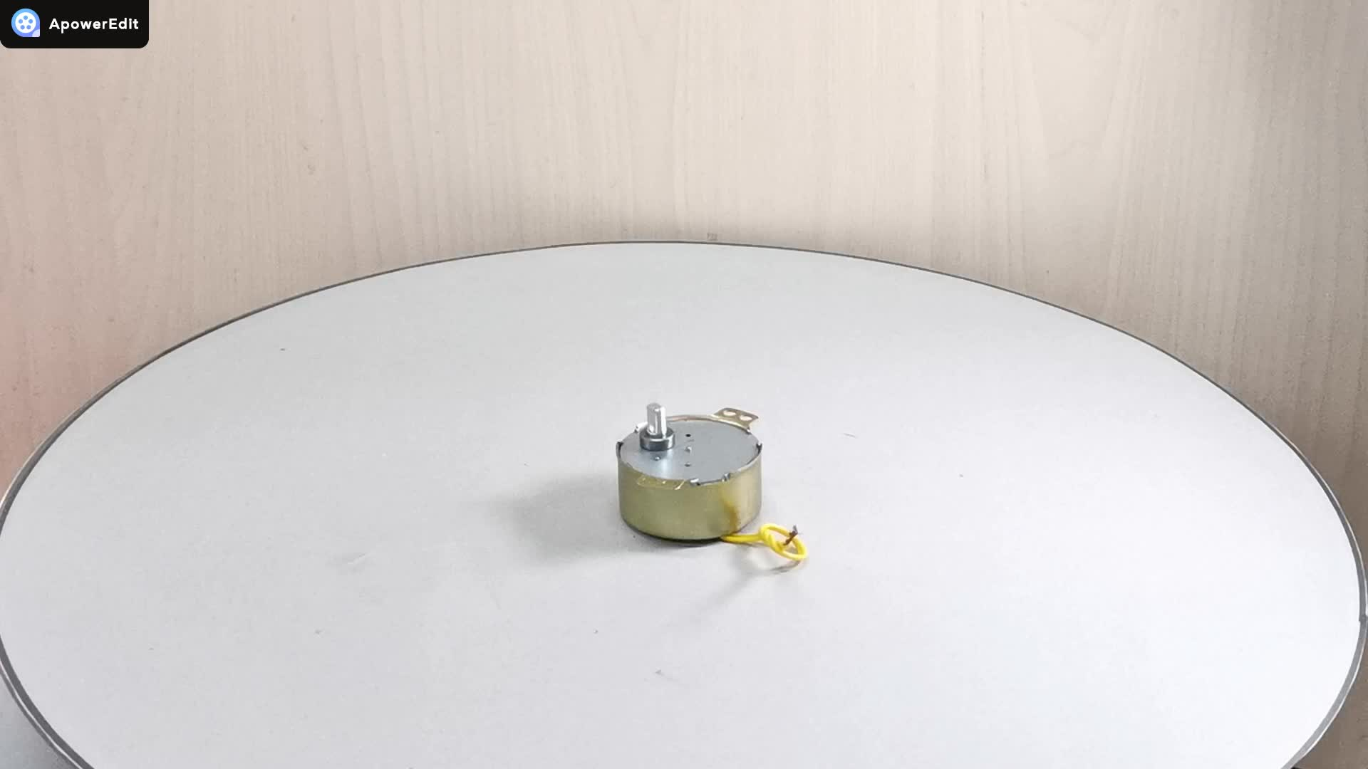 49TYJ düşük devir 4w 50ktyz kalıcı mıknatıs küçük otomatik ac senkron motor