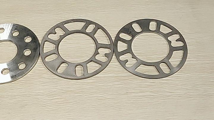 Wheelsky Abrasive Blasting Aluminum 5 lug On 10-120mm 5x114.3 Car Wheel Hub Spacer