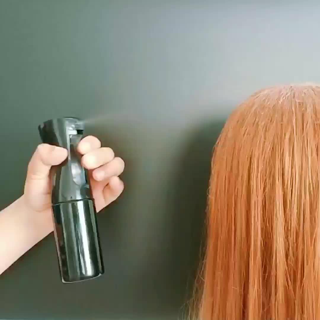 200 ml 300 ml 500 ml Flairosol बालों की देखभाल ठीक धुंध ट्रिगर सैलून स्प्रेयर पुन: प्रयोज्य व्यक्तिगत सौंदर्य बाल स्प्रे बोतल barbe के लिए