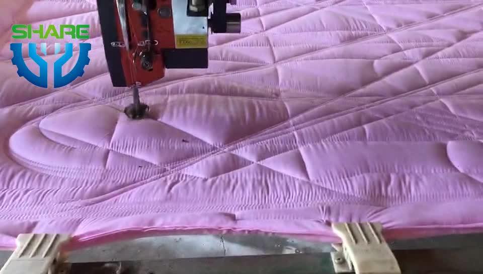 Industriële Automatische Enkele Naald Quilten Machine voor Matrassen Bed Cover Quilt Naaien Quilten Making Machine