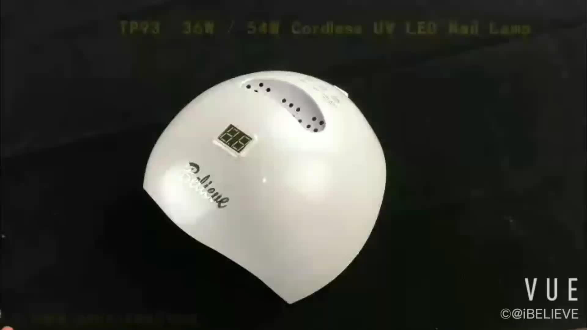 Wird exklusiver distributor für diese nagel lampe wiederaufladbare wireless
