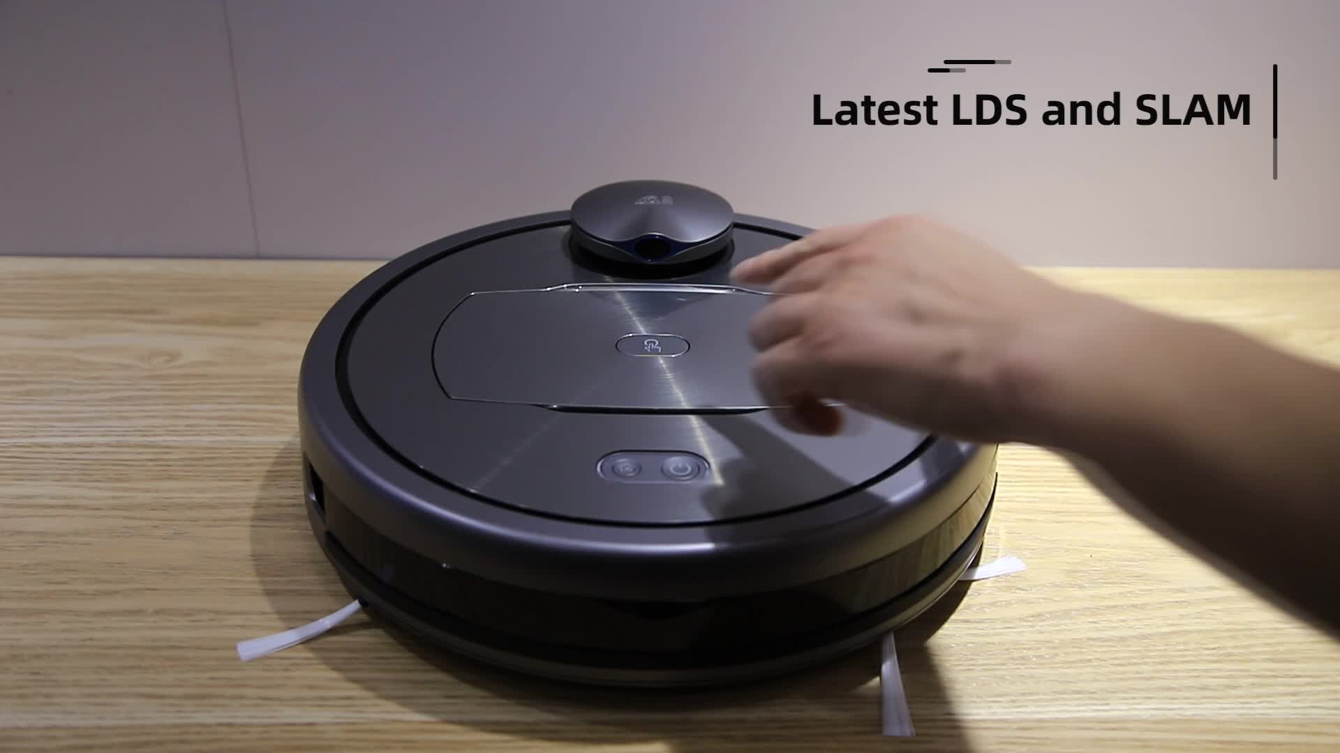 PUPPYOO Aspirateur Robot Smart Robot Vacuum Robotic Vacuum Cleaner R6Home