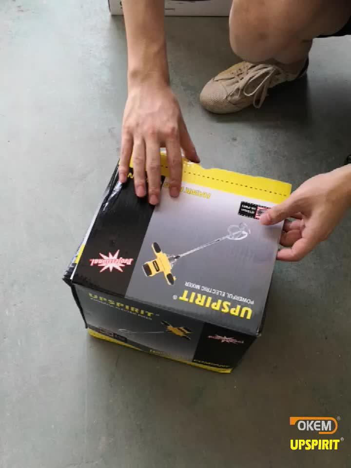 1600W portátil eléctrico de hormigón de cemento de yeso juntas pintura Thinset mortero paleta mezclador Pro taladro mezclador agitación herramienta
