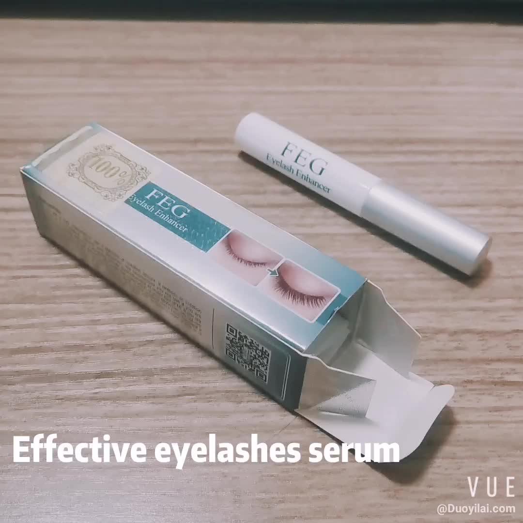 FEG 100%  Original Natural Eyelash Enhancer Eye Lash Treatment Rapid Growth Serum