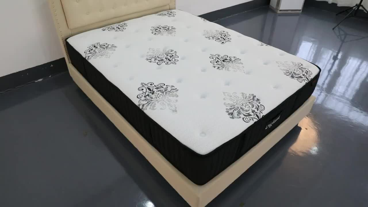 Diglant mattress memory expensive hotel mattress rolled hybrid hotel bedroom king size mattress for furniture