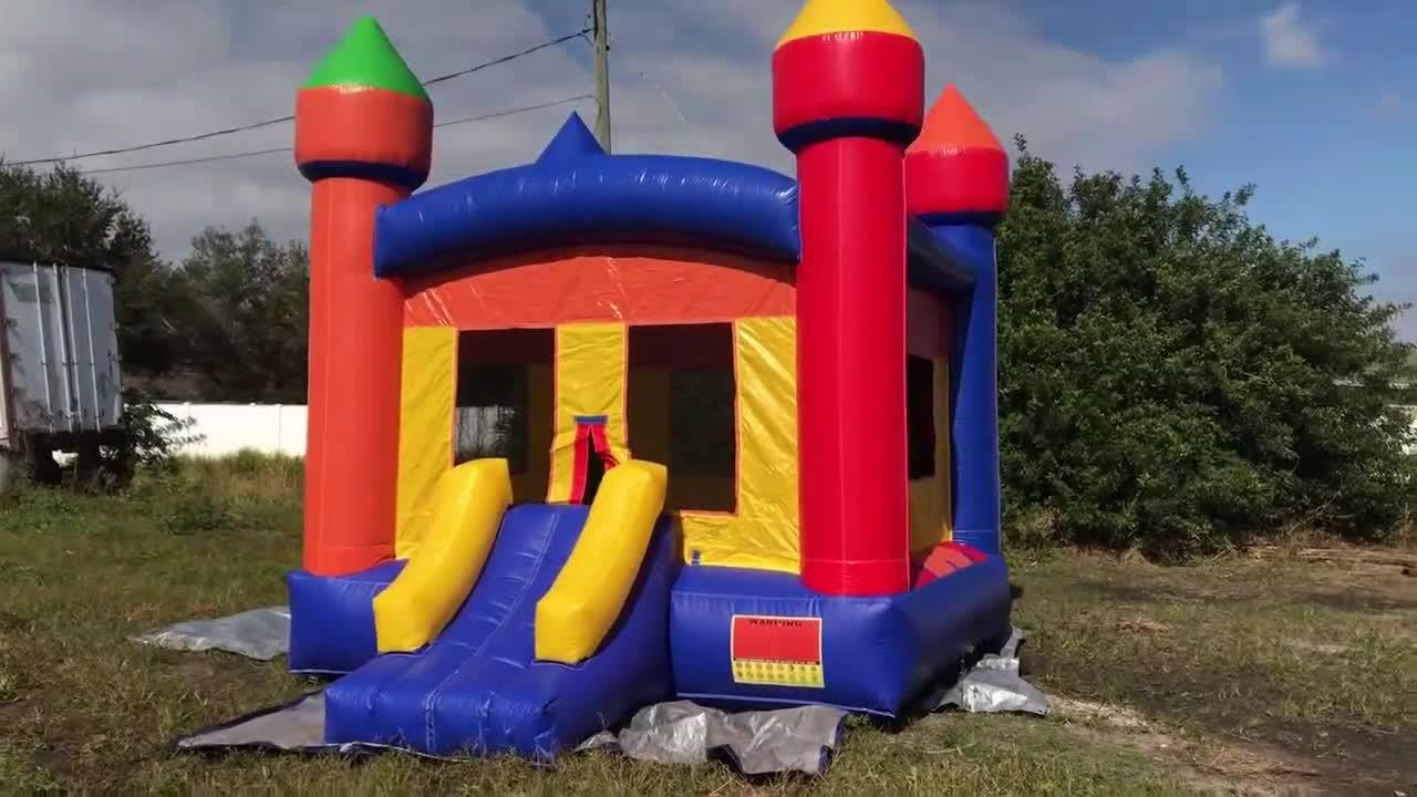 ผู้ใหญ่จัมเปอร์ในร่ม Backyard ขนาดเล็ก Bouncers สำหรับเด็ก