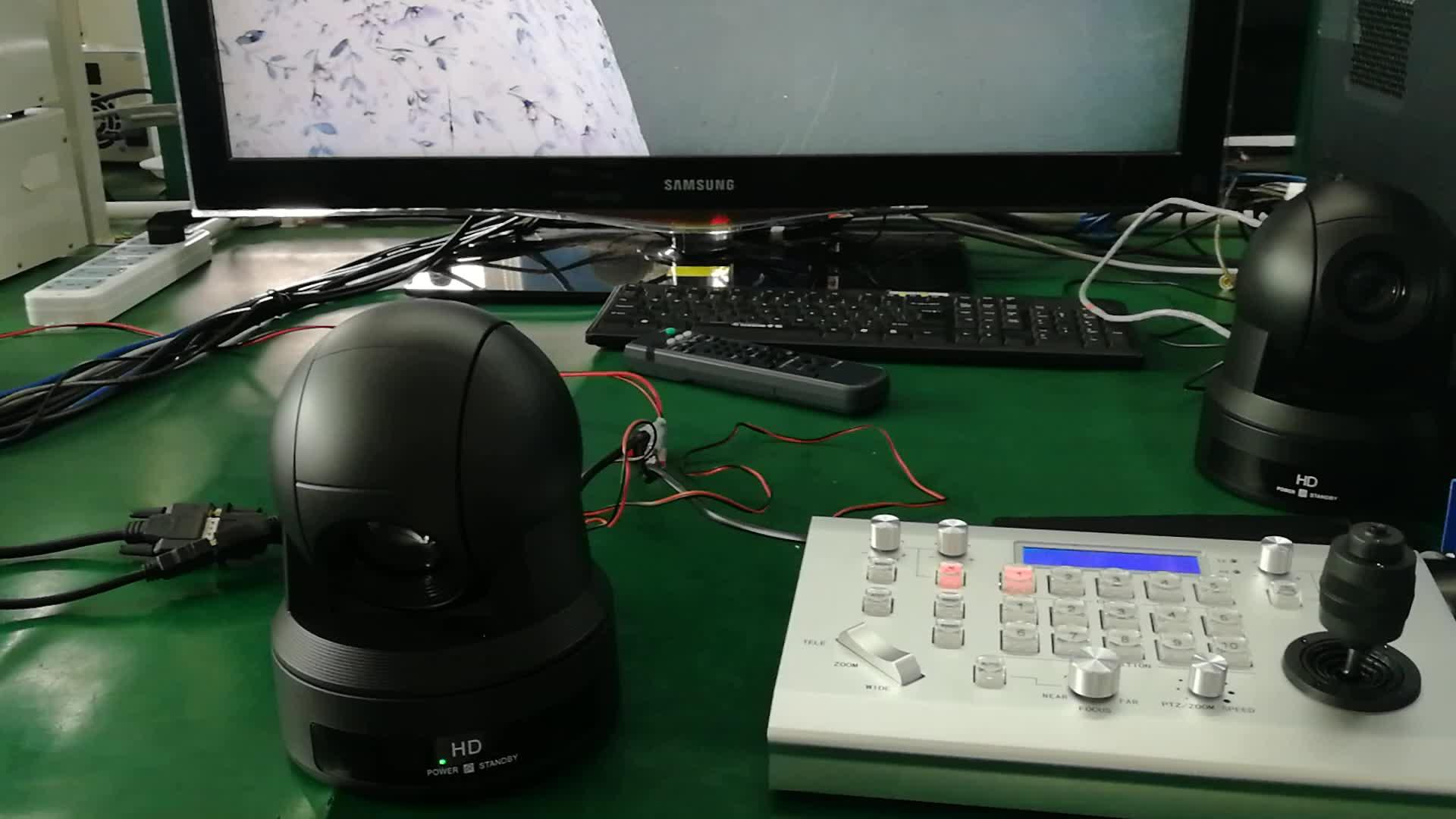Kato Visione Più Nuovo Full HD 1080 P 3G-SDI 20X PTZ TELECAMERA di video Macchina Fotografica di Videoconferenza per la trasmissione KT-HD61A