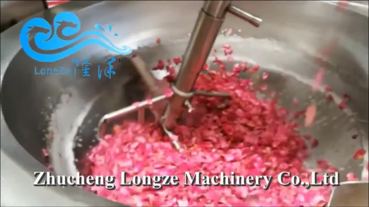 ขายร้อนอุตสาหกรรมอาหารทำอาหารเครื่องผสมสำหรับซอสขนมอาหาร
