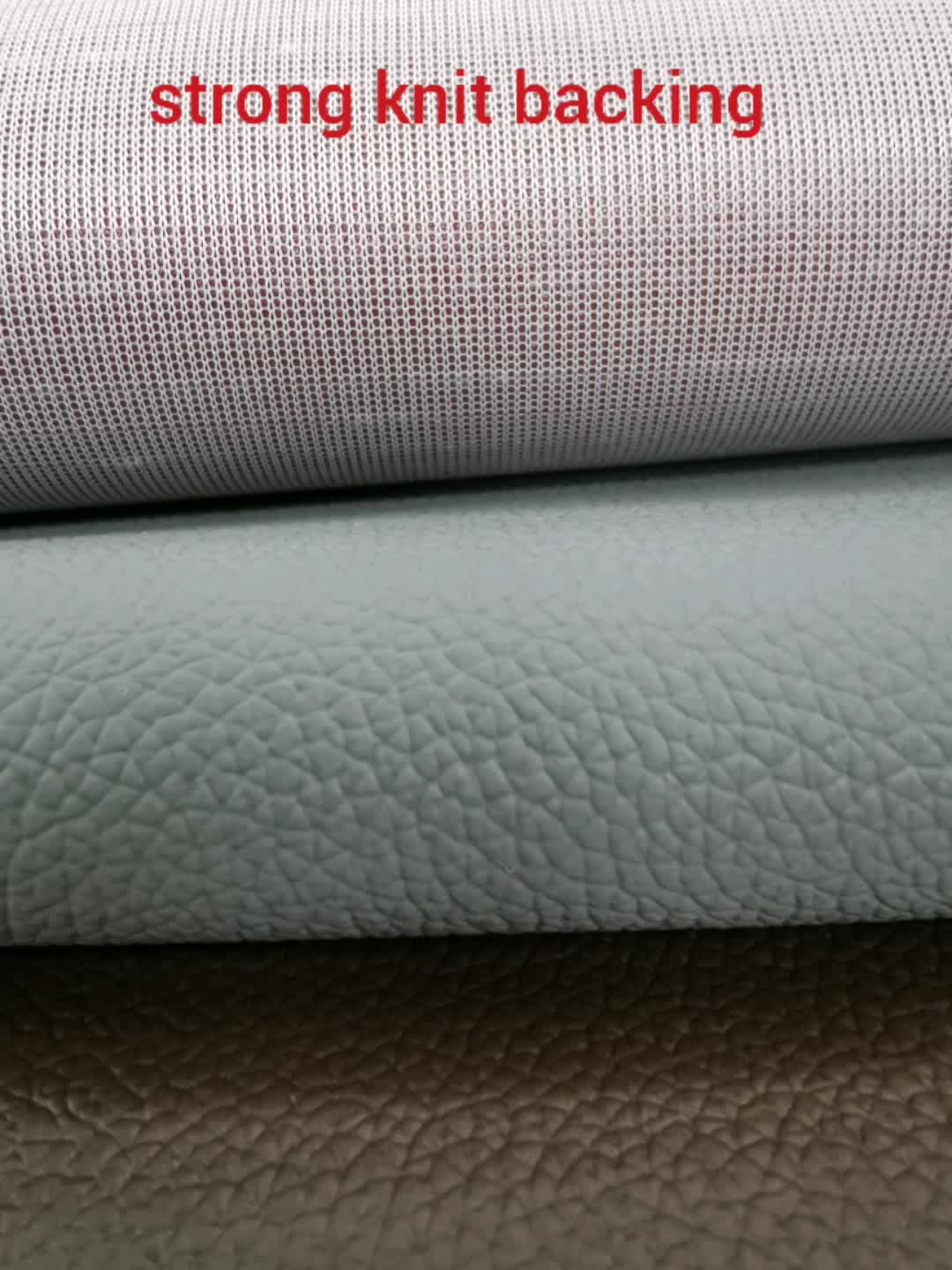 Factory Wholesale Pvc Leather Fabric Synthetic Leather For Stationery