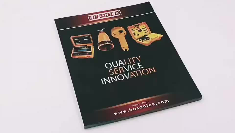 Best quality printing service custom cheap company product catalogue printing
