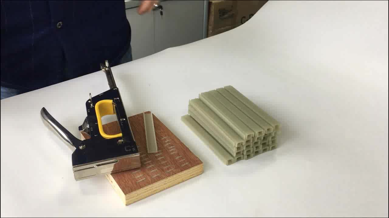 BAILY supply polymer plastic staple for wood