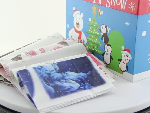 Kundenspezifisches 17gsm weißes Seidenpapier, Geschenkpapier