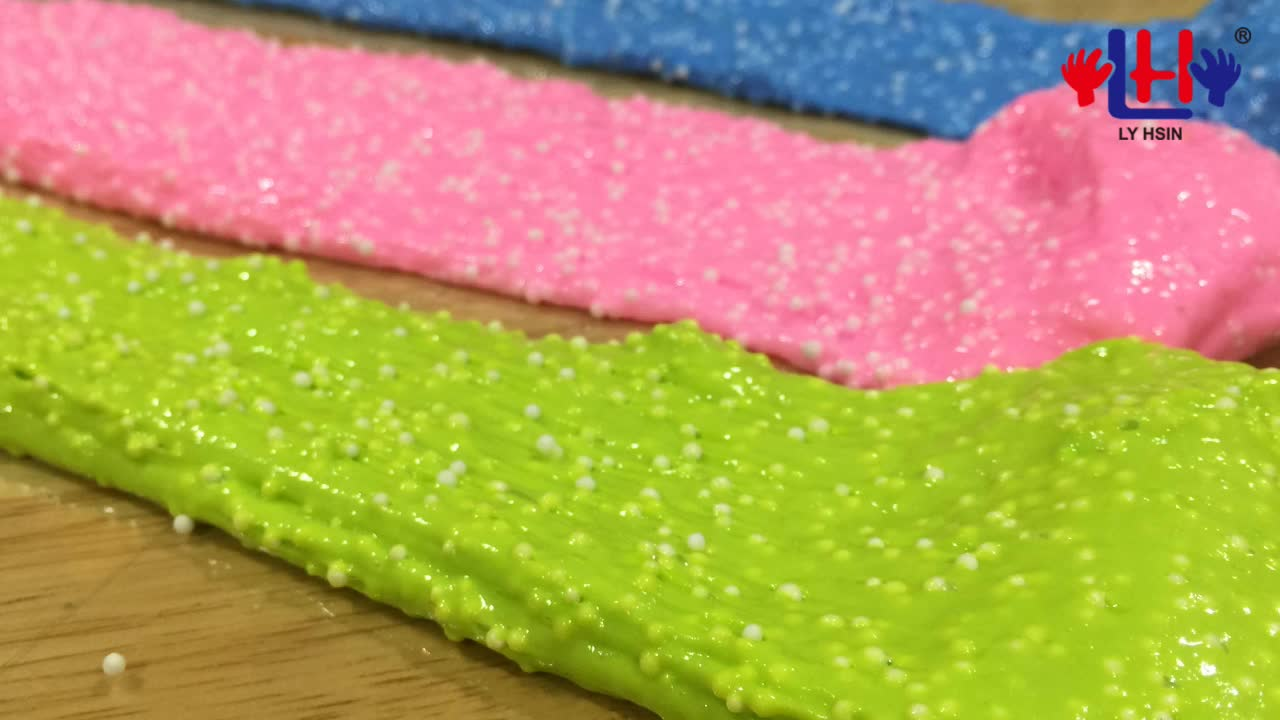 Wholesale 11 Colors Pearl Putty Slime Foam Clay