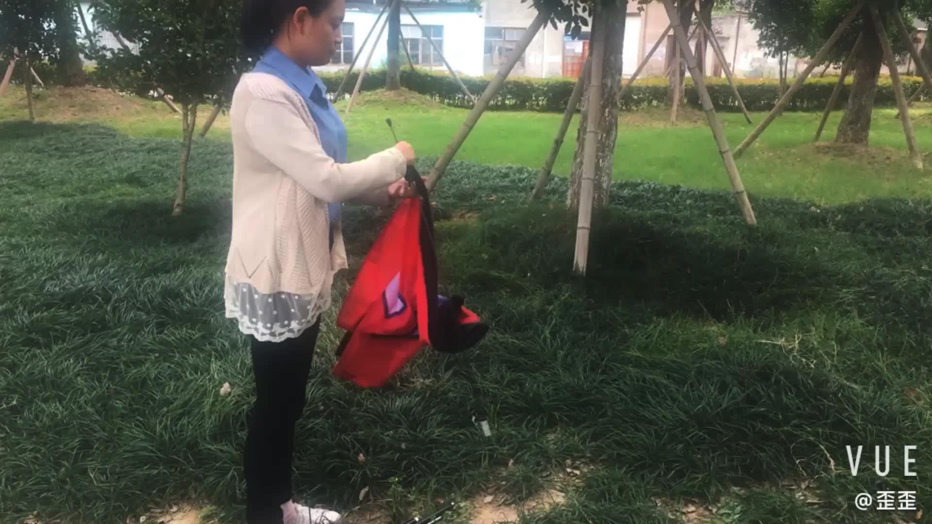 Plaj bayrak direği taşıma çantası