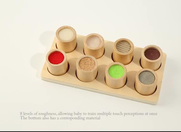 Wholesale Kids Sensorial Teaching Wooden Educational Montessori Material Toys For Children