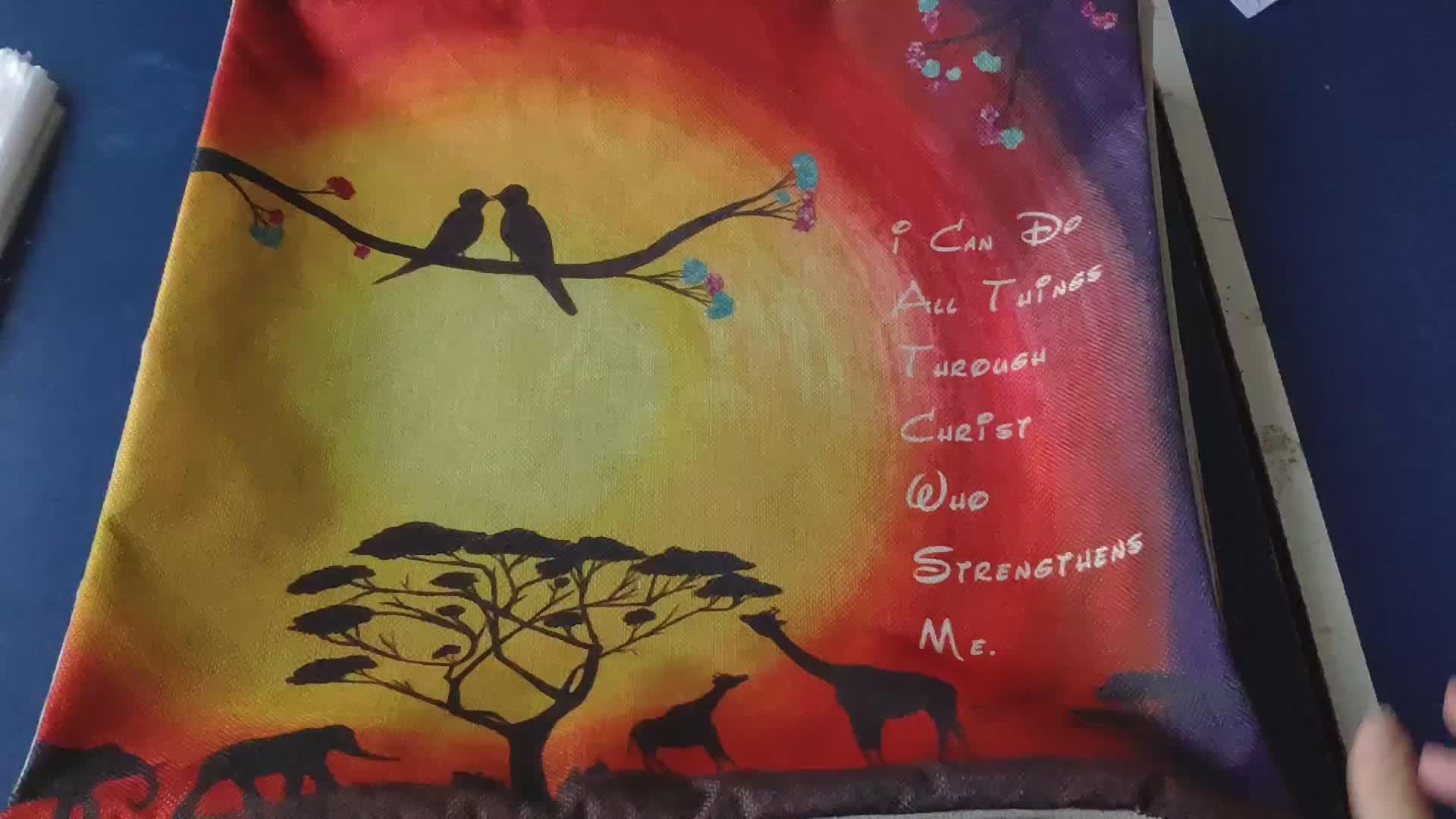 초상화 의 아프리카 Woman in 민족 Dress Zulu 우아함 Tribal Graphic Print 장식 스퀘어 (times square) Accent 베개 Case