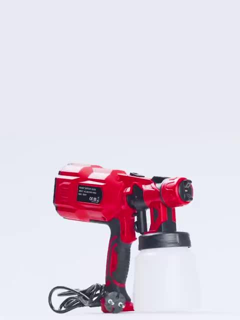 18 V Cordless spray gun und Li-Ion Batterie Farbe Spray Gun