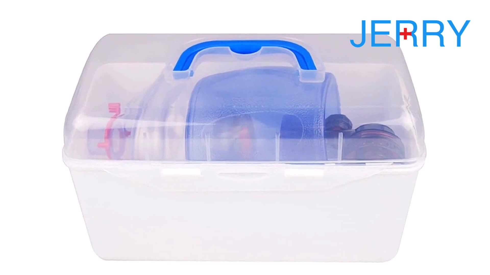 Manual Oksigen PVC Bayi Resuscitator Menggunakan Pernapasan Tas Ambu