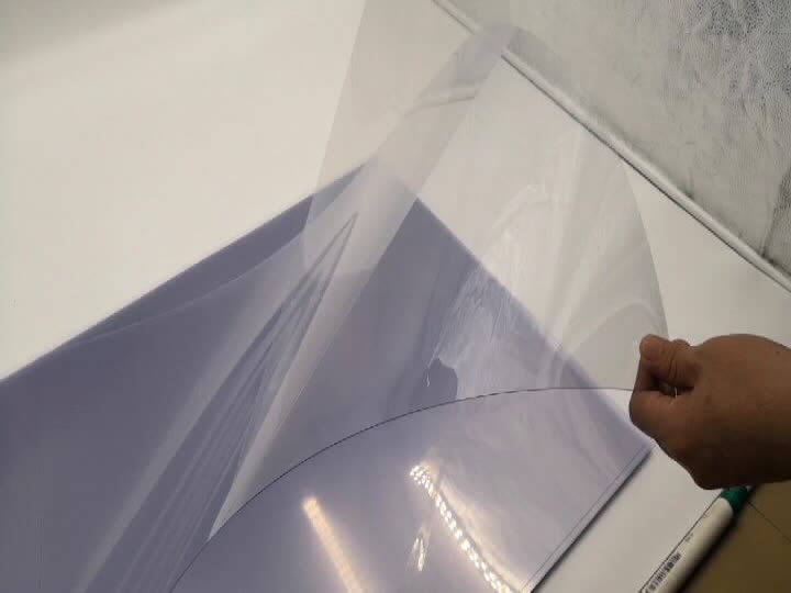 Chinese Manufacturer Clear Rigid APET Sheet Film For Offset Printing