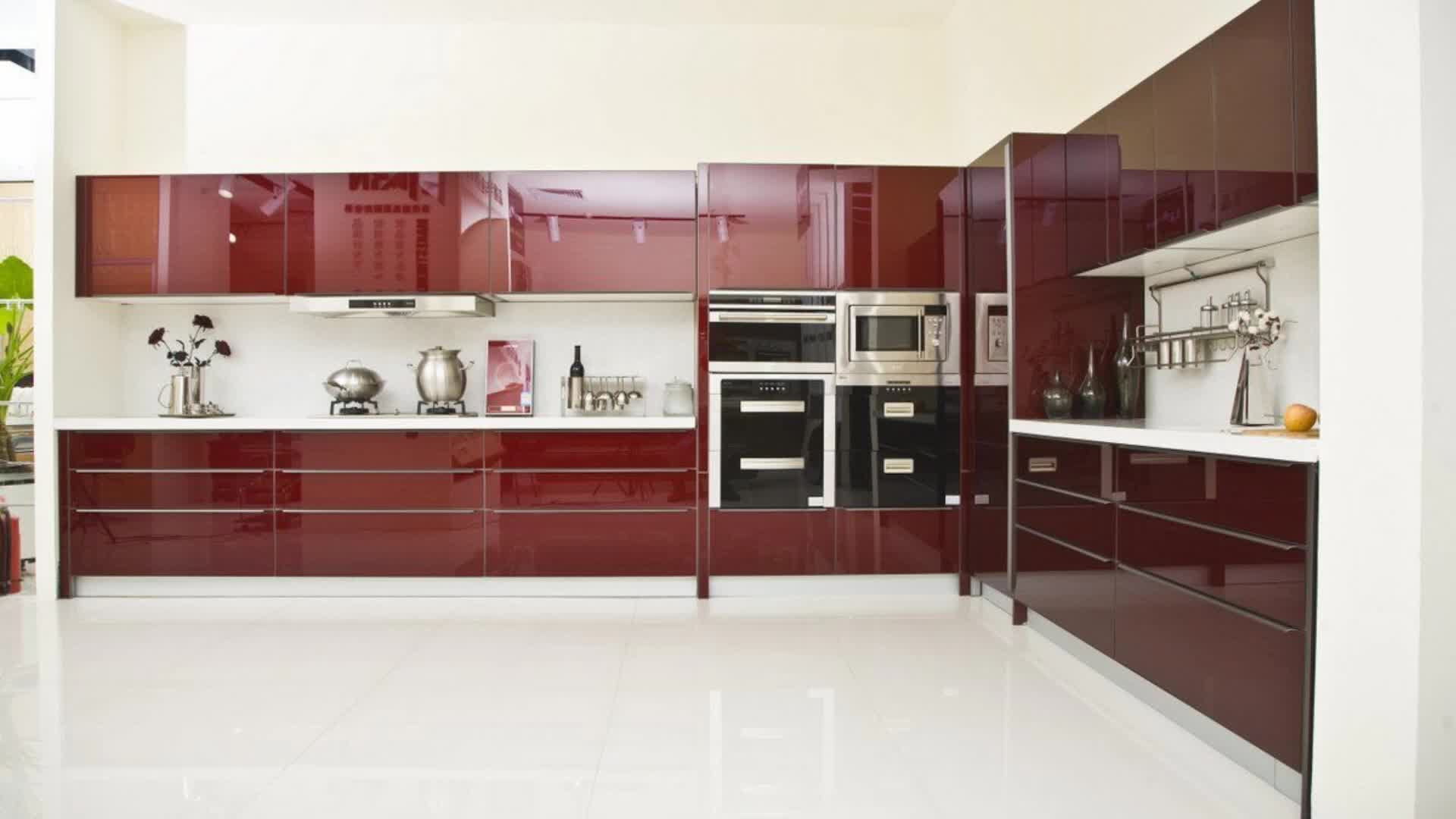 Mutfak seti İtalyan Modern Mutfak Tasarım
