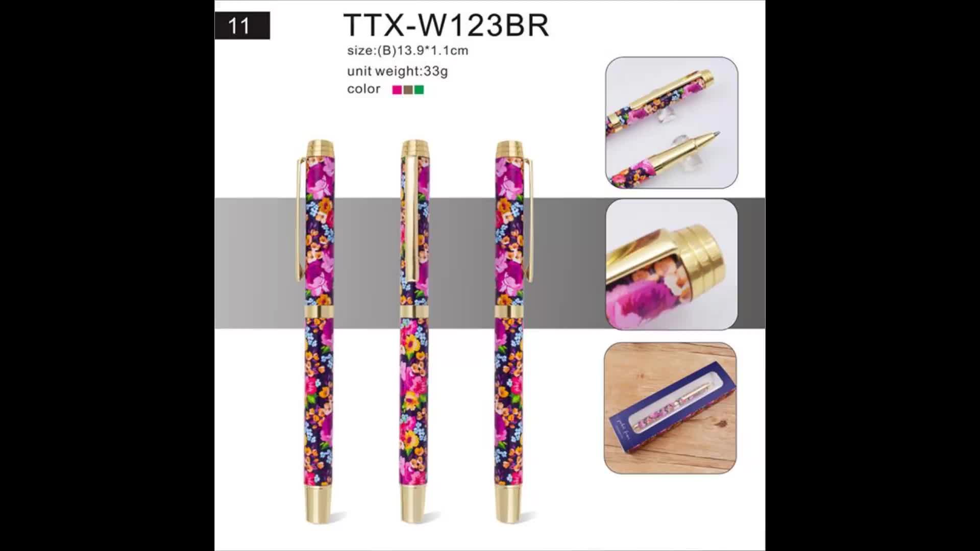Business gifts for promotion China wholesale hot selling gift metal promotional pen