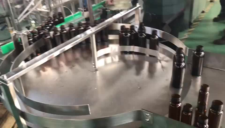 Automatic hair care product filling and capping machine for shoe cream,filling and sealing