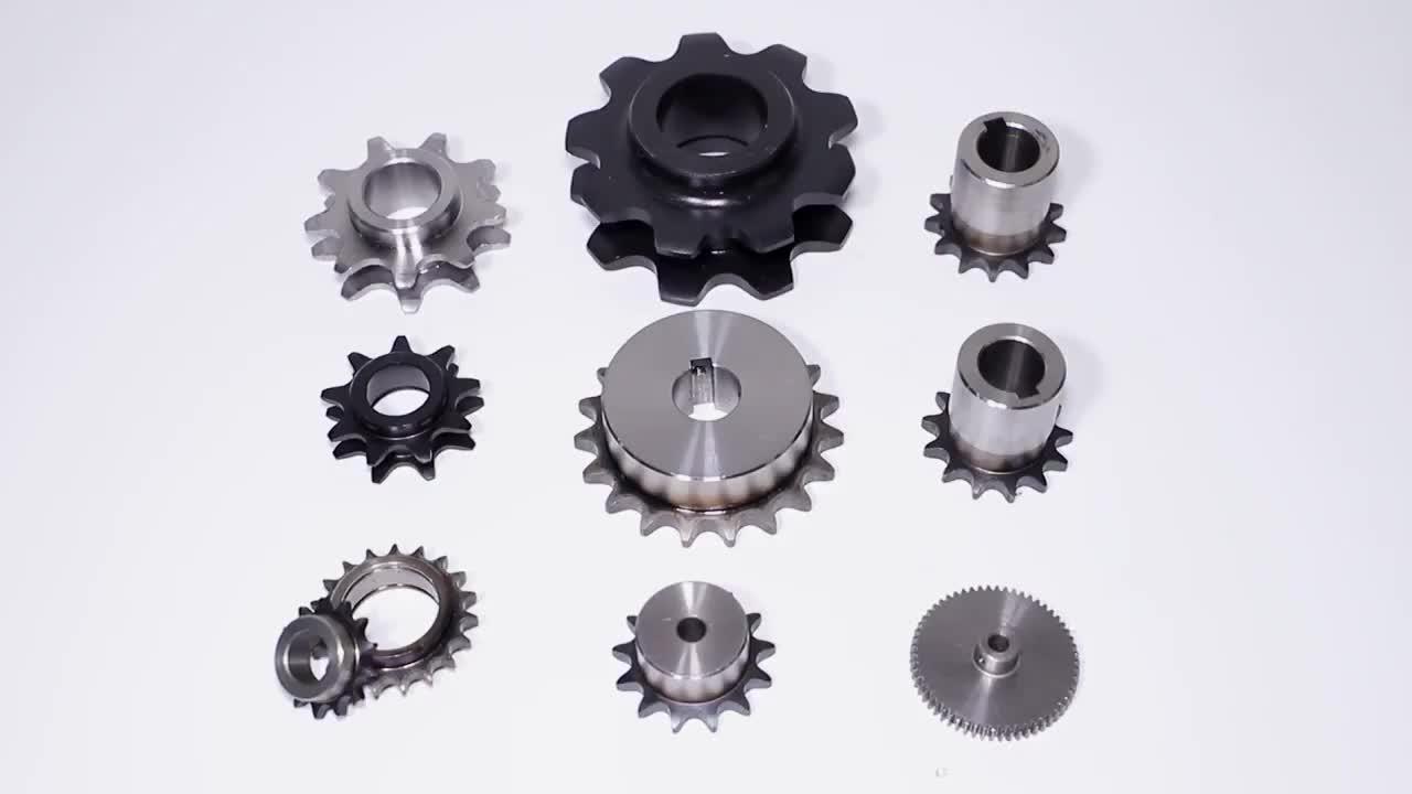 Top คุณภาพเกียร์อลูมิเนียม double helical ขนาดใหญ่ steel spur gear สำหรับสกูตเตอร์