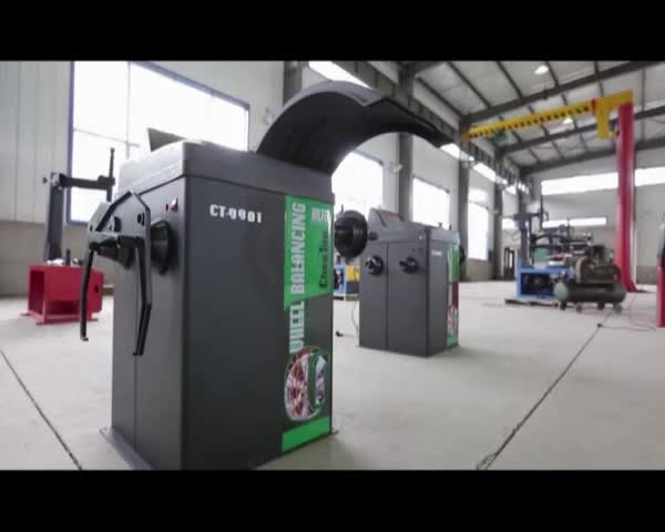 Wheel Balancing Tire Alignment Machine