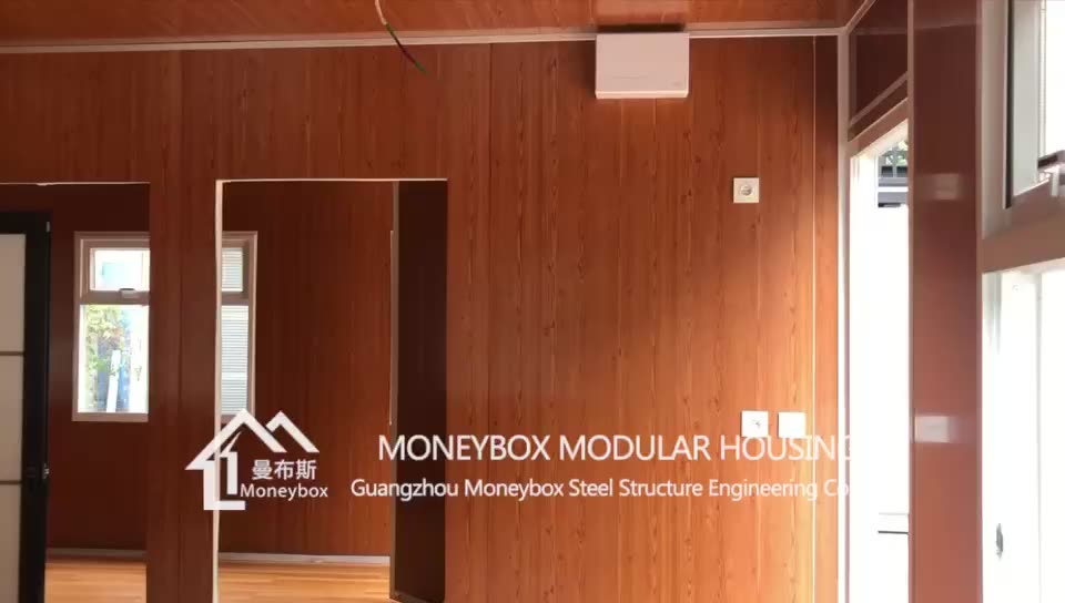 Opvouwbare Prefab Container Portacabin Winkel/Container Huis/Home/Office