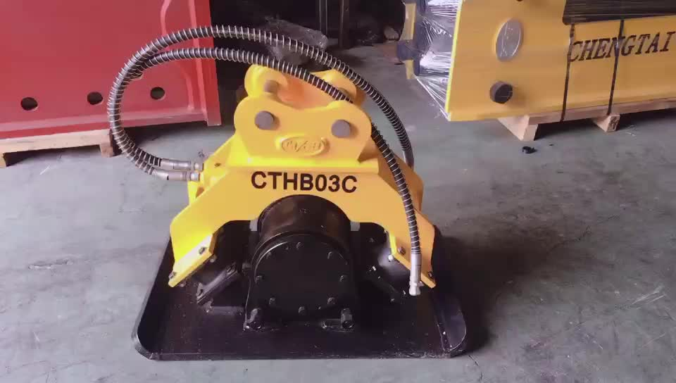 CE Approved Hydraulic excavator  compactor
