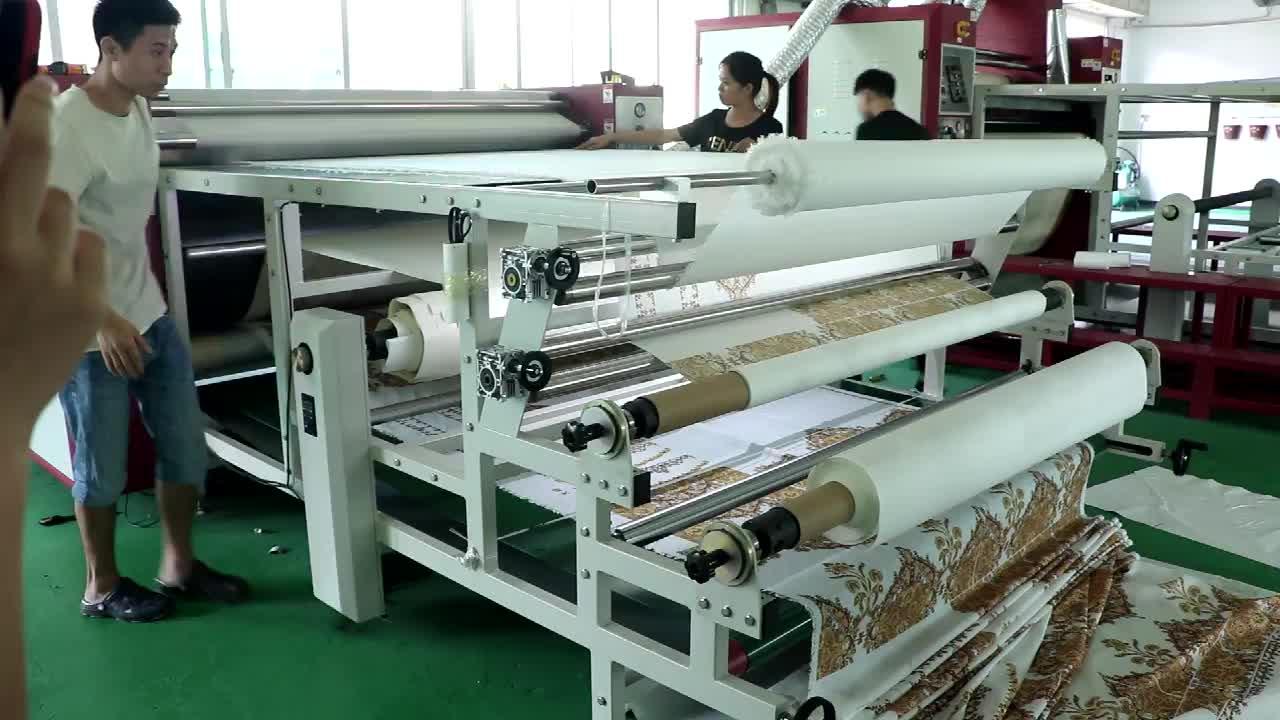 Automatic Calendar Roll To Roll Heat Transfer Press Machine